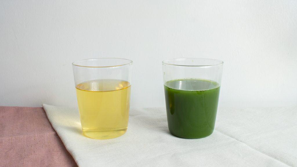 caffeine content in matcha vs green tea
