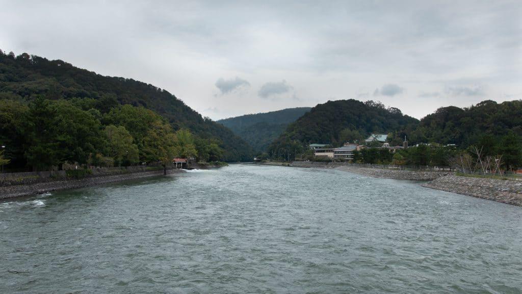 River in Uji, Japan