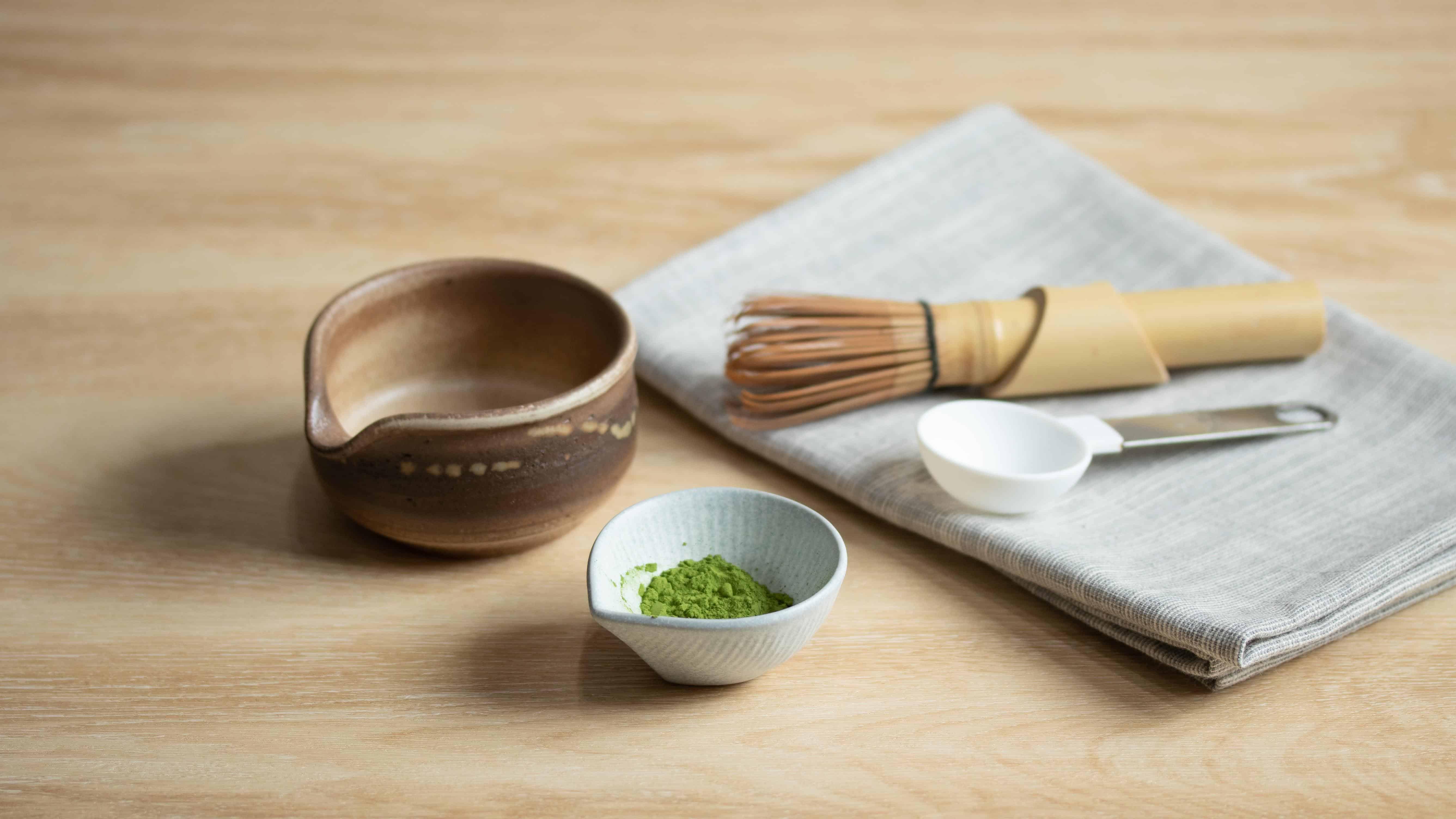Matcha affogato recipe preparation