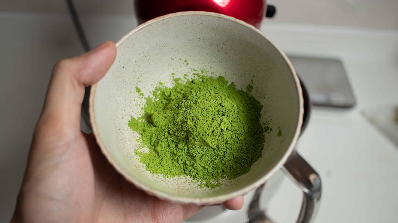 Good culinary grade matcha for matcha green tea cookies
