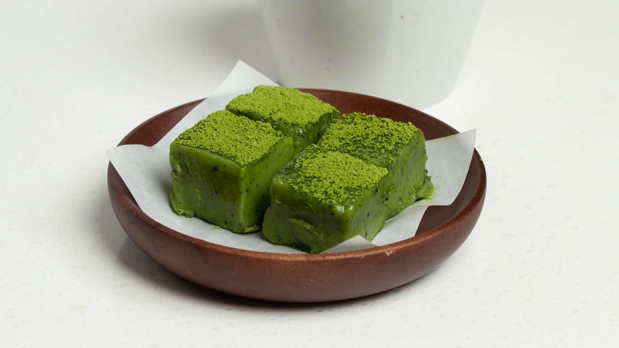 green tea matcha nama chocolate
